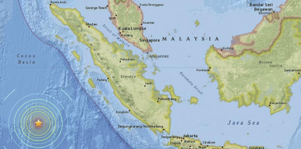 Terremoto de 8.3 sacude suroeste de Indonesia, según USGS