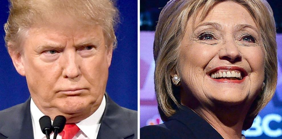Batalla por la Casa Blanca estaría entre Clinton y Trump