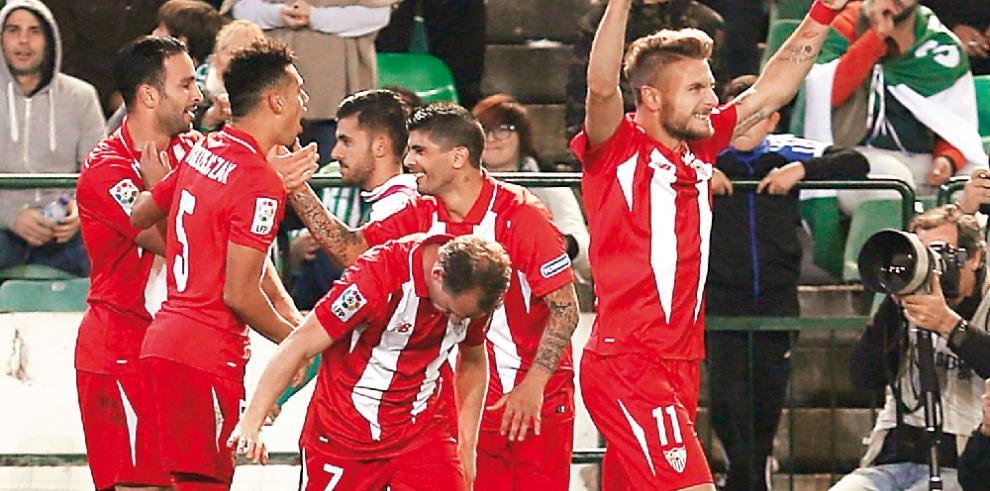 Sevilla da un gran paso hacia cuartos en la Copa del Rey