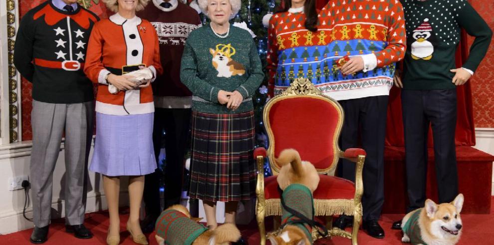 Reino Unido se viste de suéter festivo