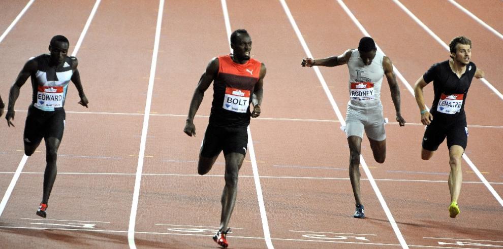 Alonso Edward logra la presea de plata en Londres, Bolt lo supera