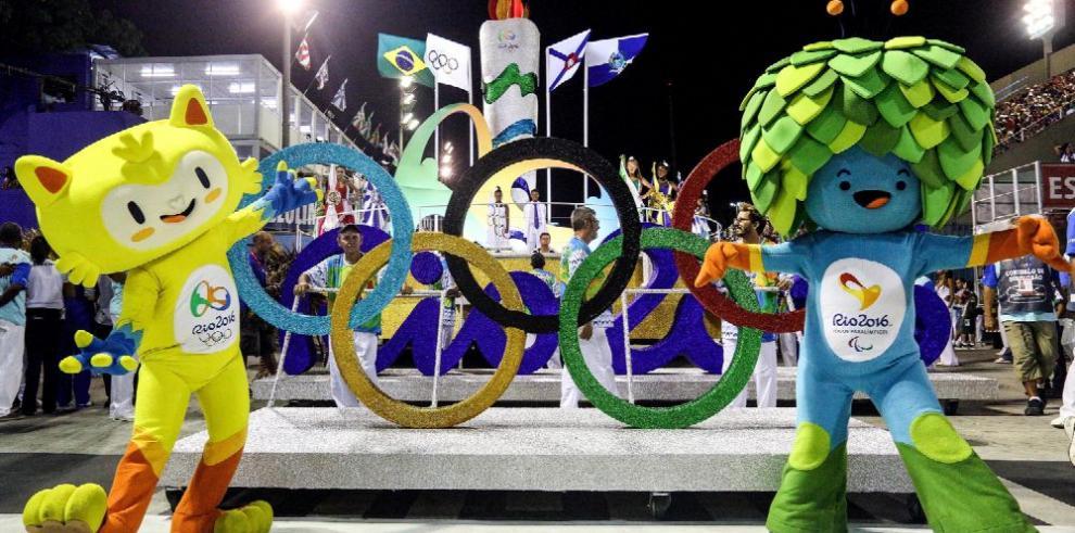 Río prepara su fiesta casi como el carnaval