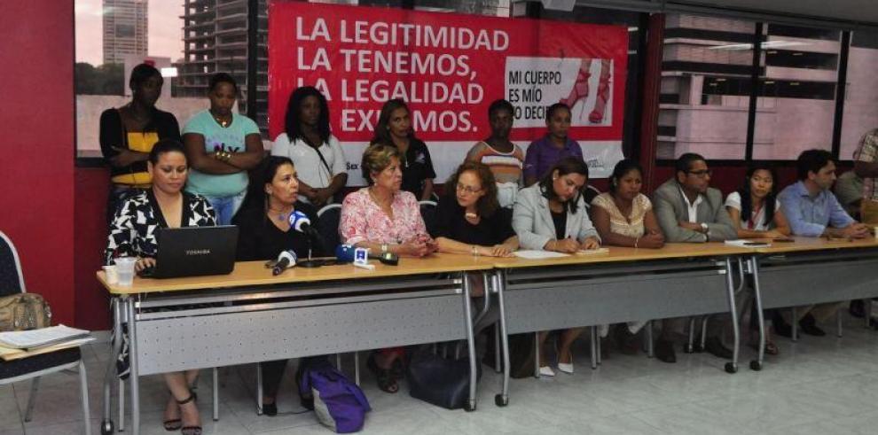 Trabajadoras sexuales condenan la trata ilegal de personas en Panamá
