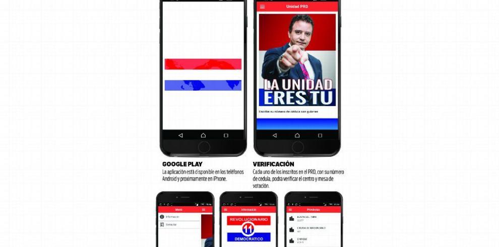 El PRD crea aplicación para elecciones internas