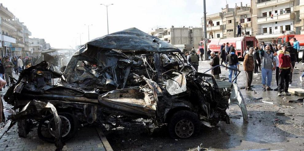 Explosiones en Siria dejan 107 muertos