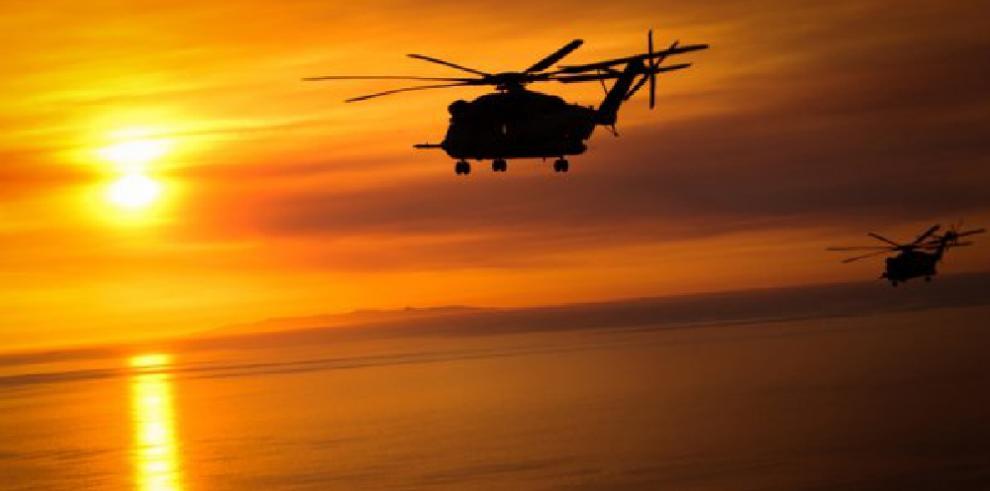 Dos helicópteros militares de EE.UU. colisionan sobre Hawái