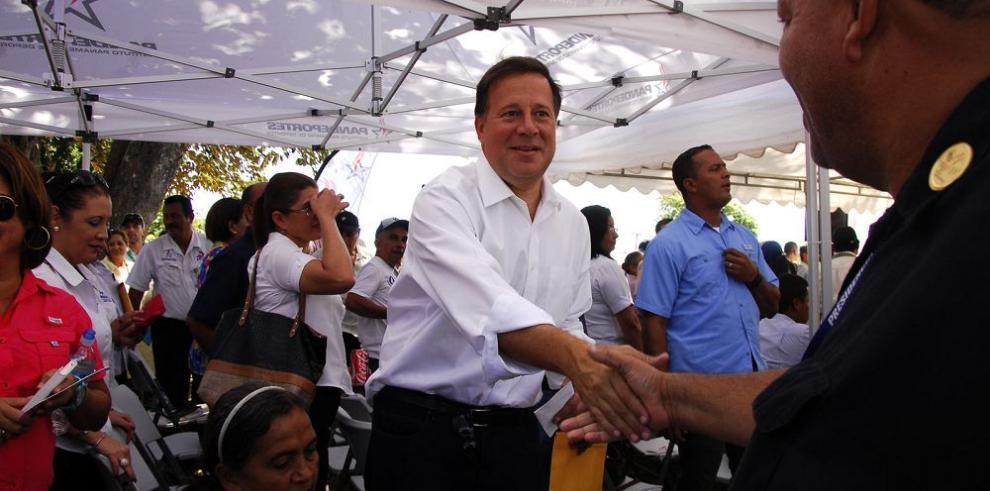 Varela entrega órdenes de proceder por $40 millones