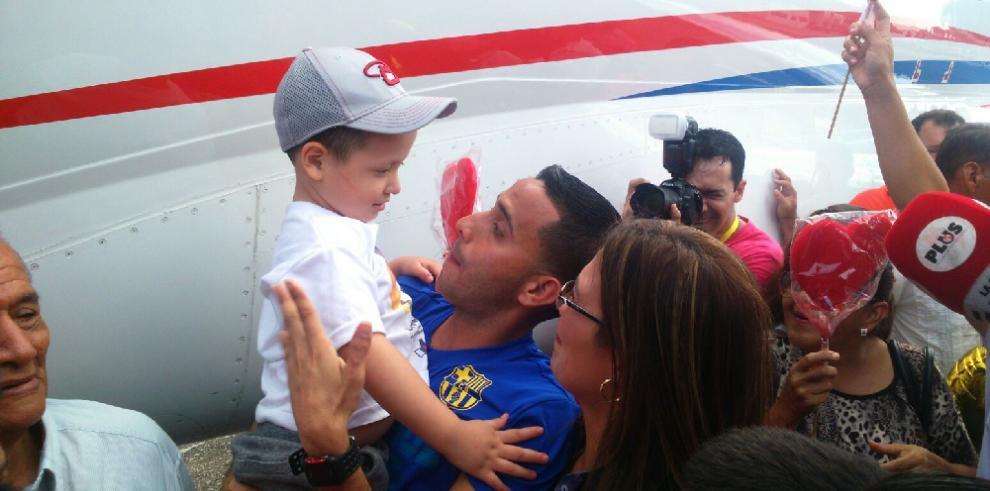 El pequeño Asbel regresa a Panamá con un nuevo corazón