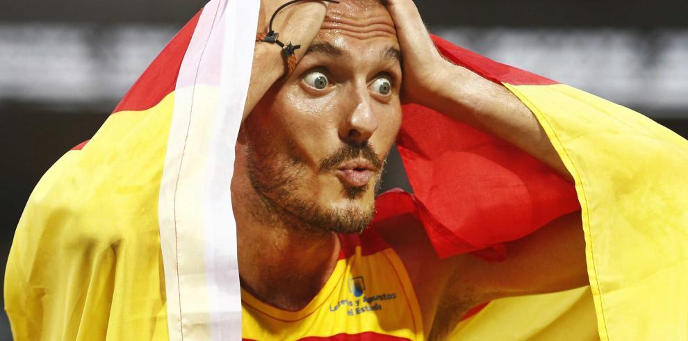 El español Abadía sube al podio en los 10.000 metros