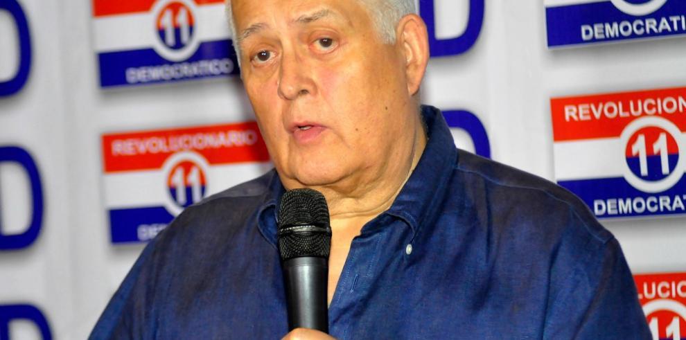 Ernesto Pérez Balladares se postulará a secretario general del PRD