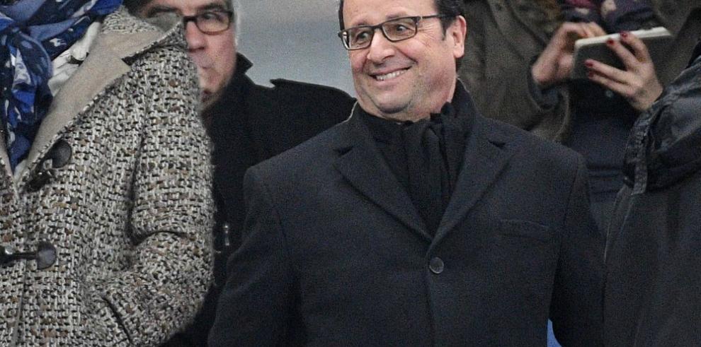 Hollande dará miles de pasos para su salud