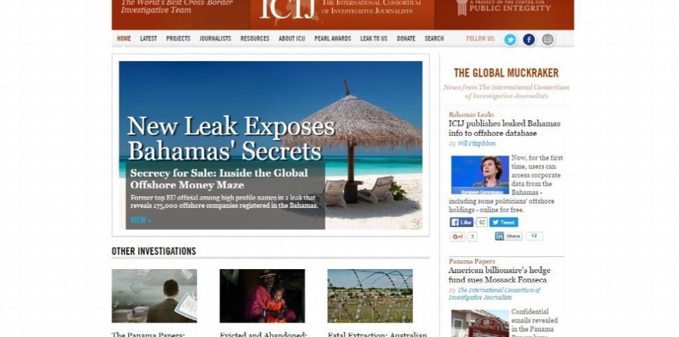 'Bahamas Leaks', la nueva denuncia periodística de ICIJ