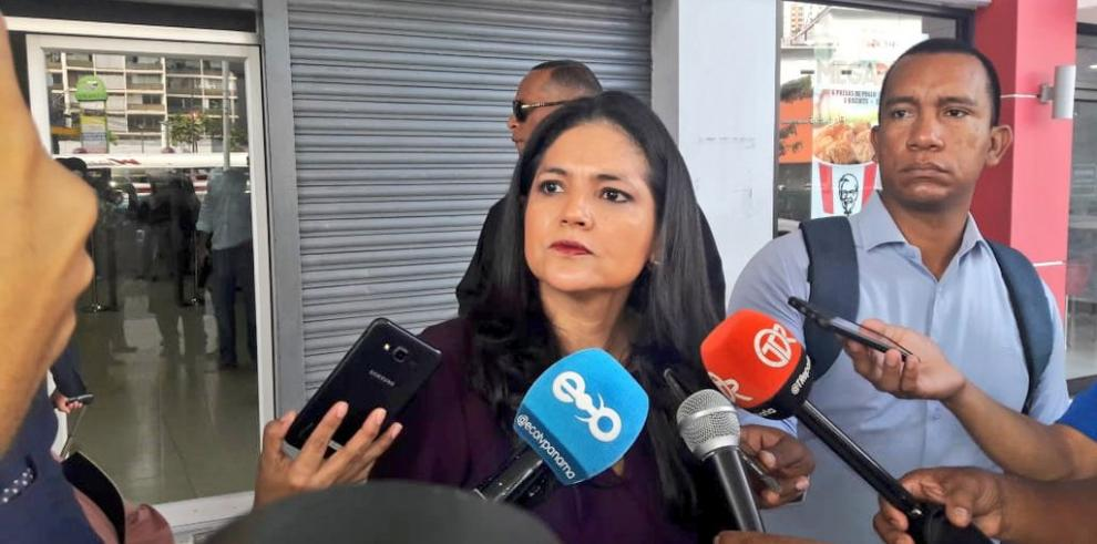 Directora general de Aduanas, Tayra Barsallo
