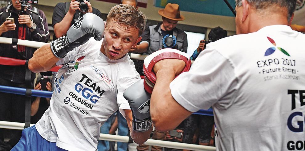Gennady Golovkin es amplio favorito para superar a Sergiy Derevyanchenko hoy en Nueva York.