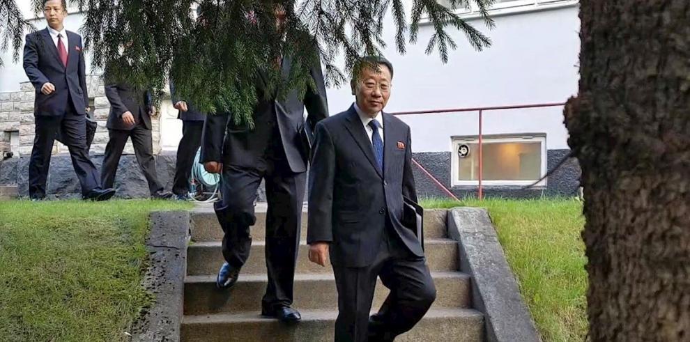 Kim Myong-gil, negociador coreano