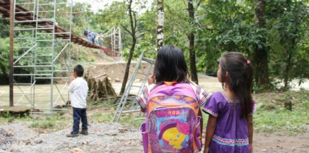 Miviot construirá puentes colgantes, reparará veredas y educativas