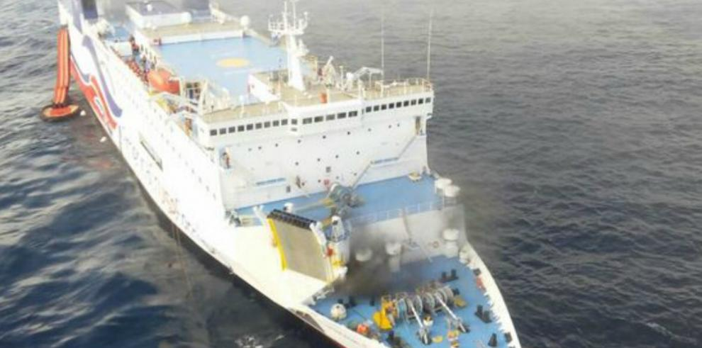 AMP investiga el incendio ocurrido en el ferry