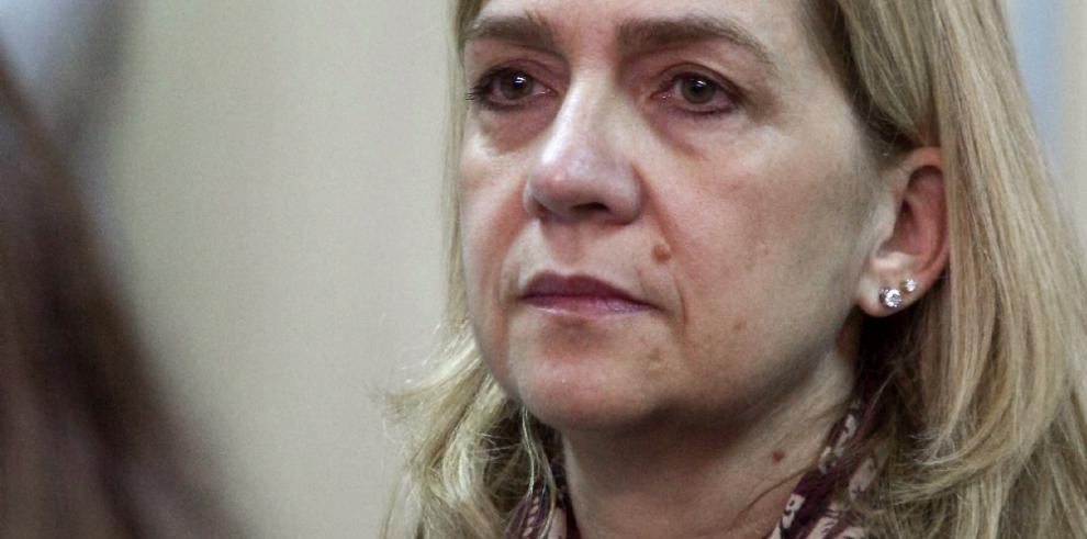 Justicia española descarta archivar el caso contra la infanta Cristina