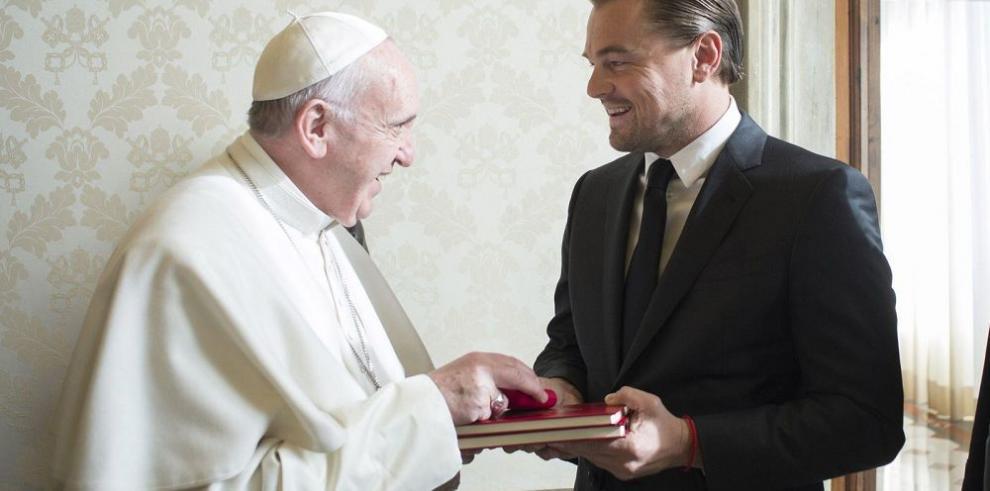 El Papa Francisco se reune con Leonardo DiCaprio