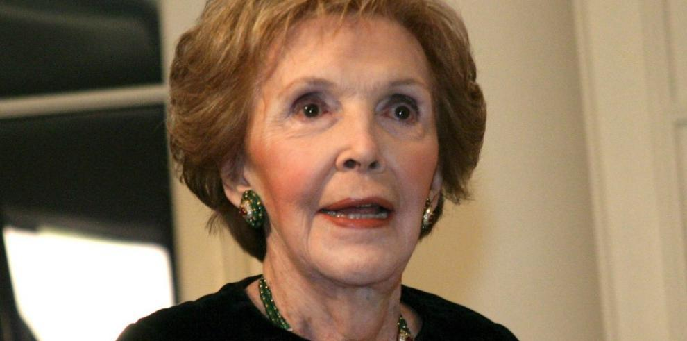 Fallece la exprimera dama de Estados Unidos, Nancy Reagan