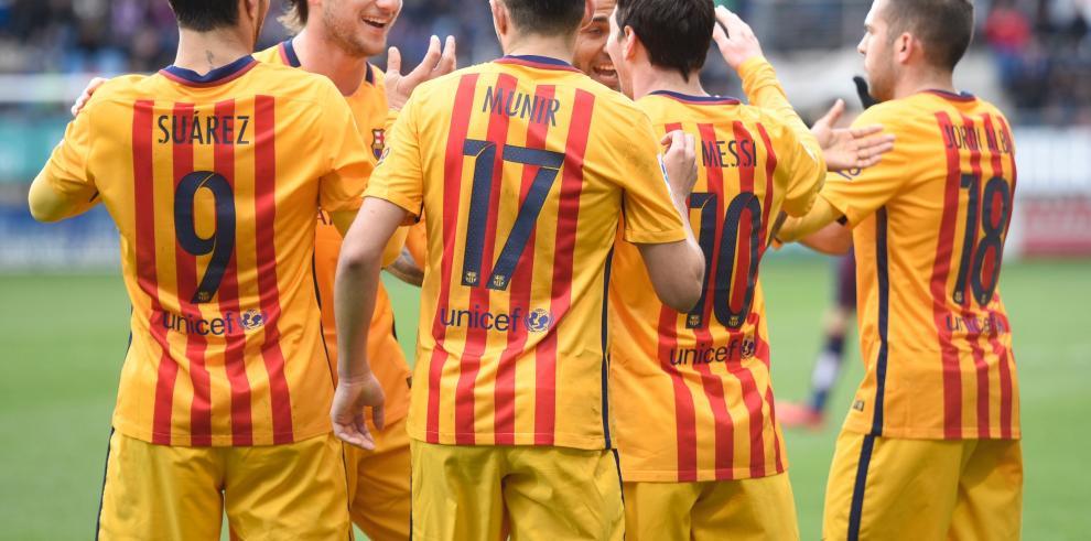 Messi guía nueva goleada del Barça, que amplía a 36 su racha invicta