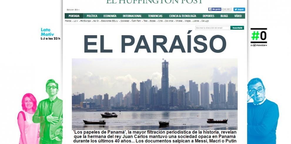 Así titularon diarios mundiales sobre 'Los Papeles de Panamá'