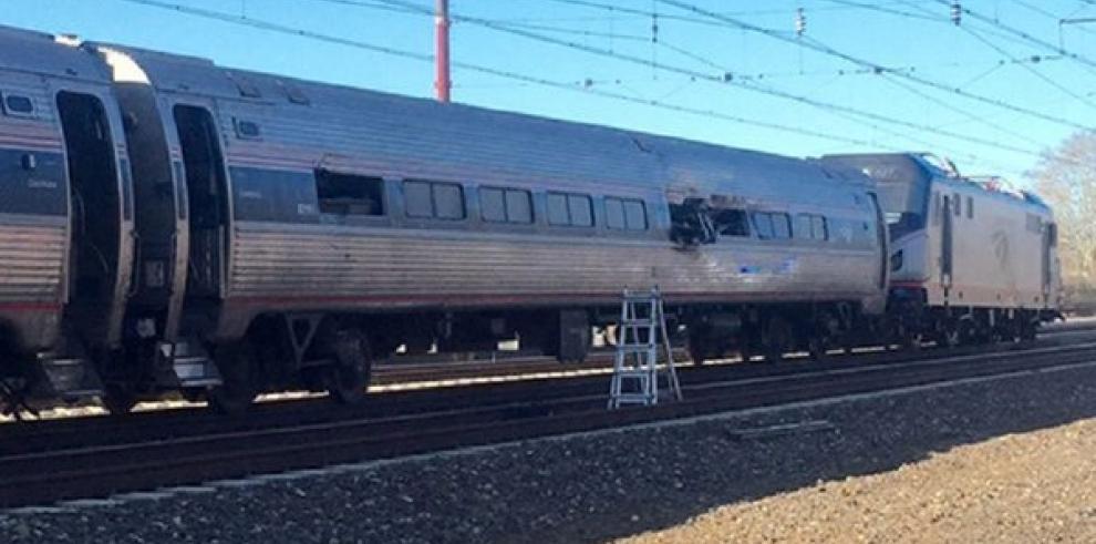 Dos muertos y 35 heridos en un accidente de tren en Filadelfia