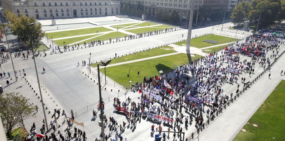 Obreros chilenos quieren reforma