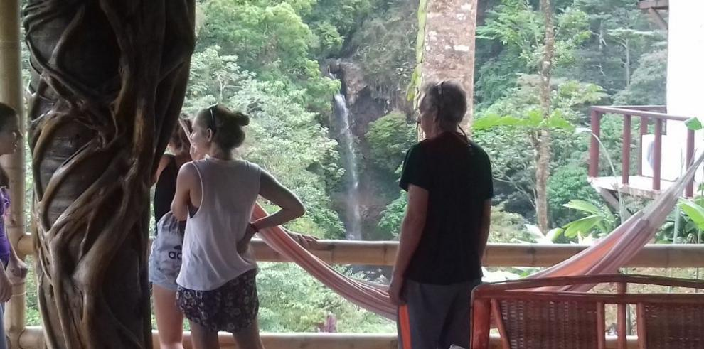 La cascada de Tavida se reduce por El Niño