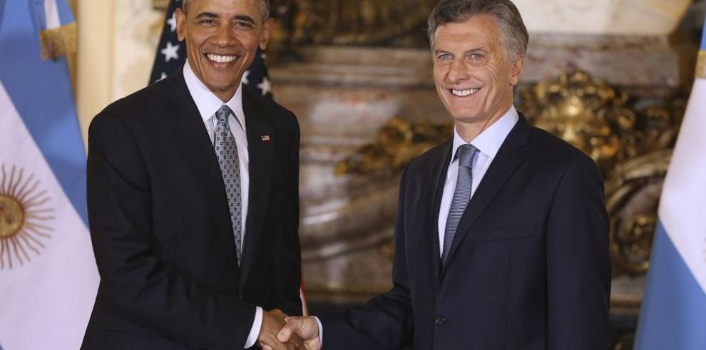 Obama valora positivamente los cambios hechos por Macri