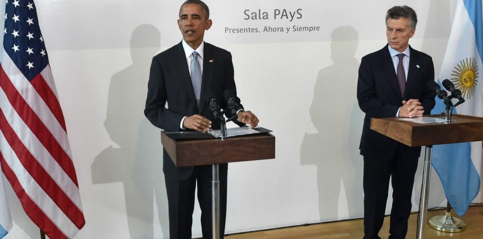 Obama pronuncia histórico