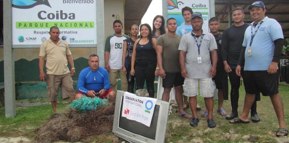 Liberan al Parque Nacional Coiba de las redes fantasmas