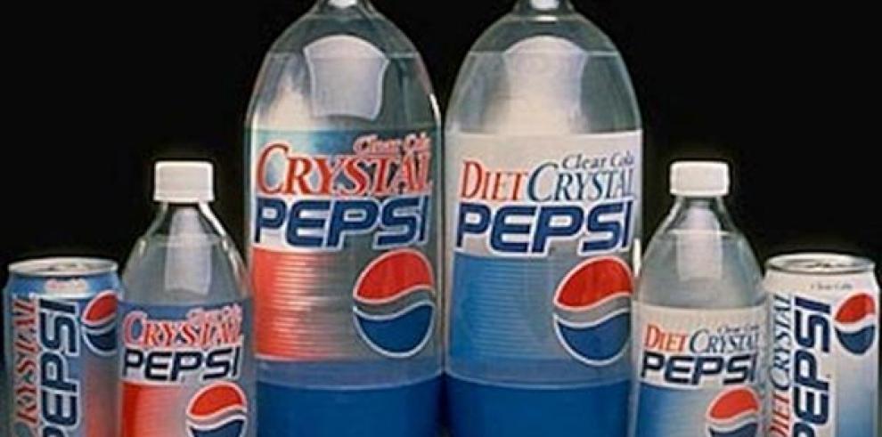 Crystal Pepsi, nuevamente en los supermercados