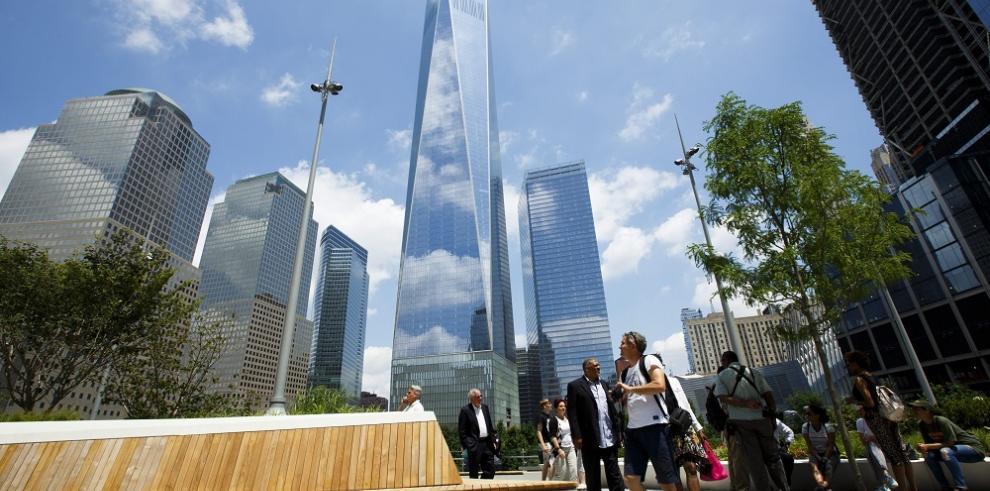 World Trade Center de New York inaugura parque al estilo del High Line