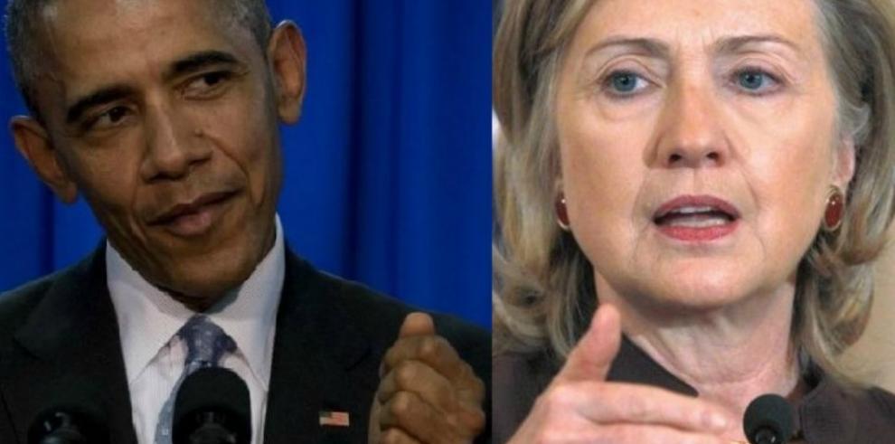 Obama apoya a Hillary Clinton como candidata a la presidencia de EE.UU