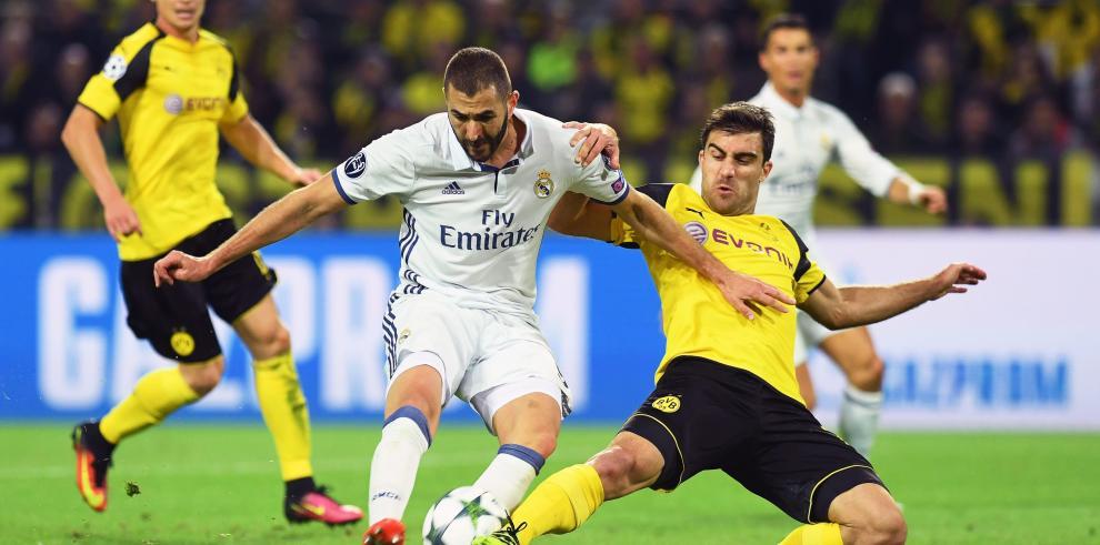 Zidaneno ocultó la decepción por el empate del Real Madrid