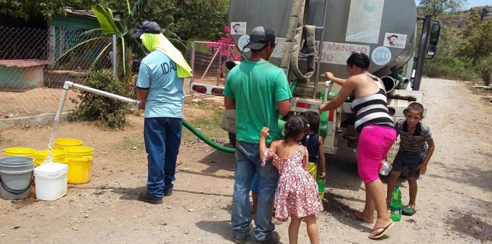 Chiriquí padece la falta de agua potable por la sequía