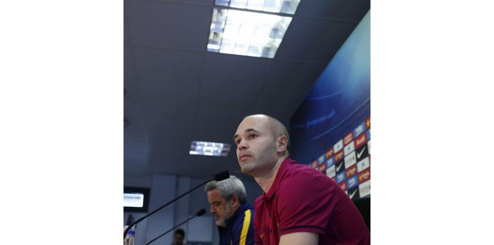 Iniesta espera dedicar triunfo a Johan Cruyff