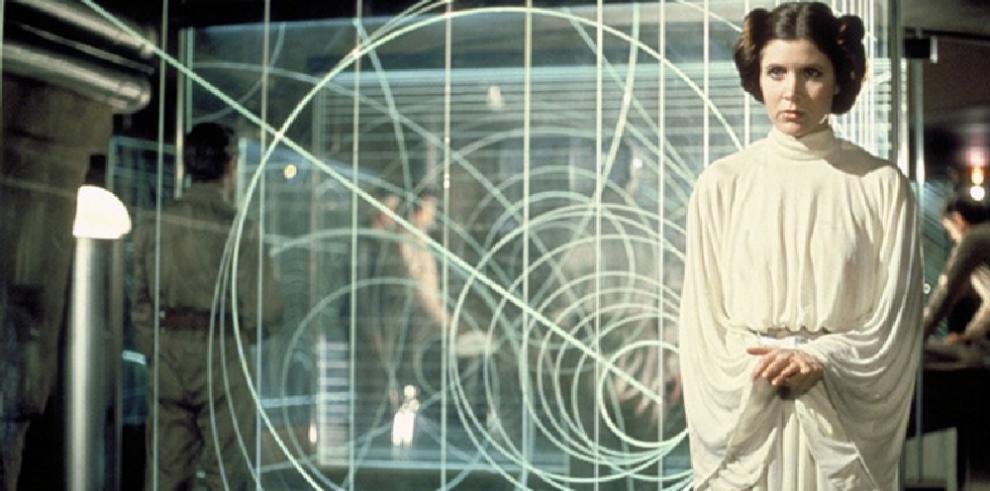 Carrie Fisher, la princesa Leia de Star Wars sufre un ataque al corazón