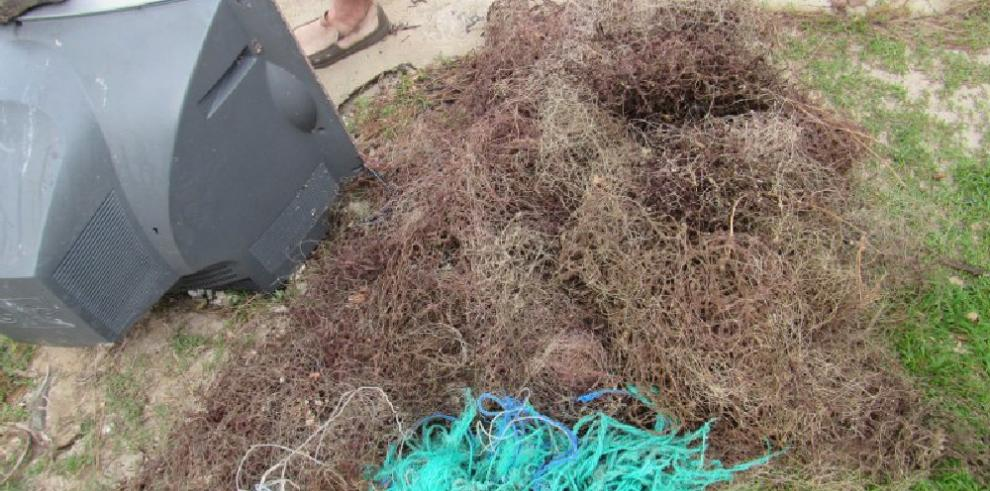 Extraen redes fantasmas en isla Coiba
