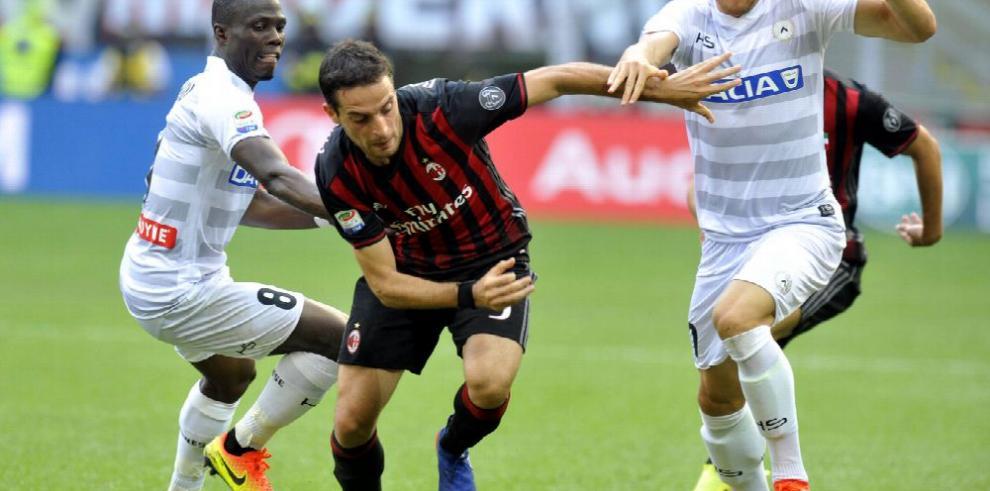 El Milan se hunde en su propia casa ante el Udinese