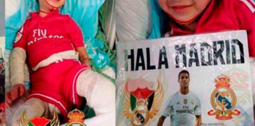 El niño palestino que sobrevivió al ataque de Duma va a Madrid
