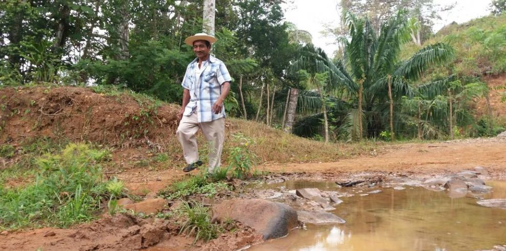 Campesinos de El Palmar exigen proyectos