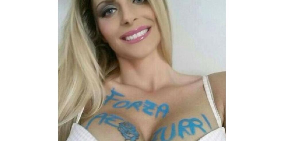 Conoce la modelo que prometió desnudarse si Italia gana la Euro