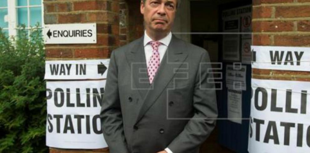 Nigel Farage anticipa la victoria del