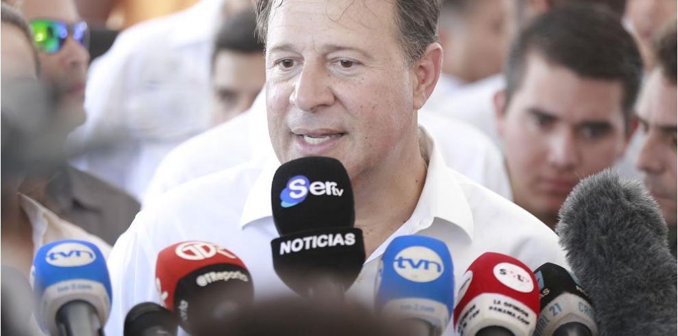 Varela pide a Colombia acatar fallo