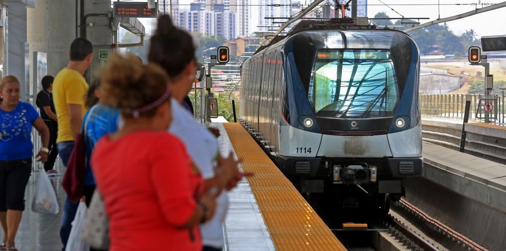 El Metro de Panamá realiza más de 90 millones de viajes en dos años
