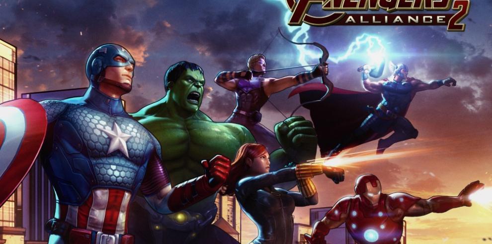 Los Vengadores regresan a los celulares con la secuela