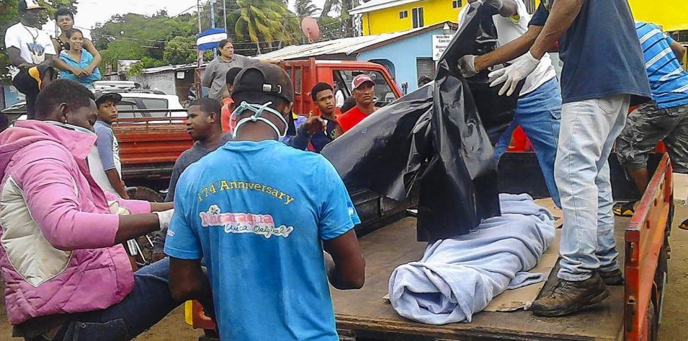 Costa Rica en duelo nacional por 13 muertos en naufragio en Nicaragua