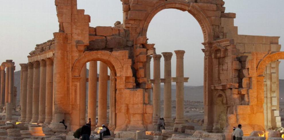 Estado Islámico irrumpe nuevamente en Palmira